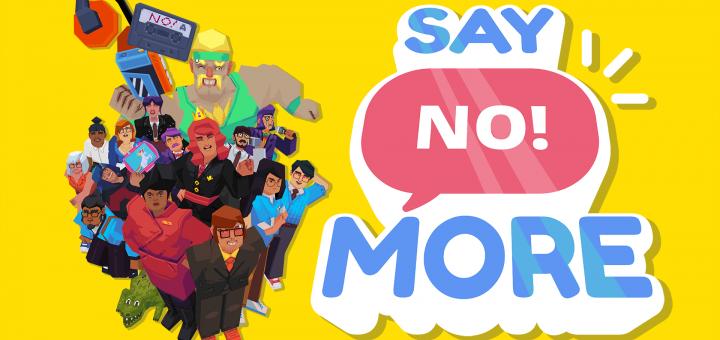 say no! more logo